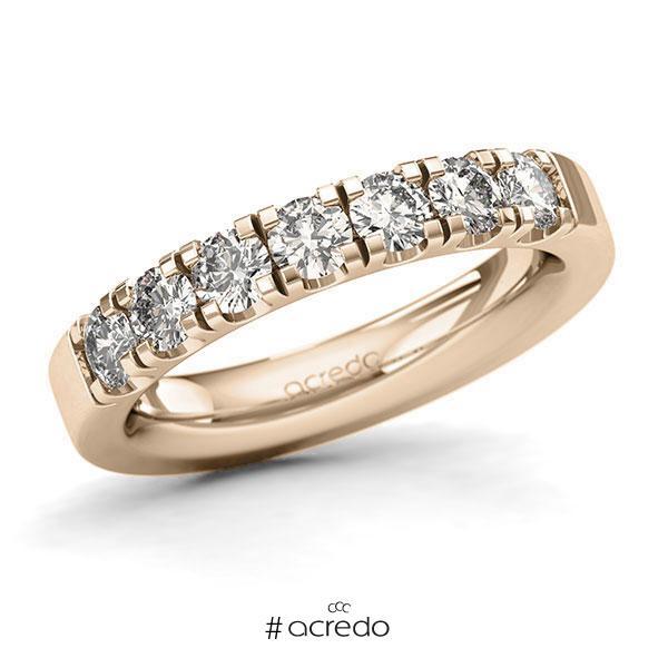 Memoire/Diamantring in Signature Gold 585 mit zus. 1,05 ct. Brillant tw, si von acredo