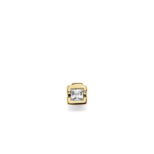 Anhänger in Gelbgold 585 mit 0,4 ct. Prinzess-Diamant tw, vs von acredo - A-X6K76-G5-1KJQ06Z