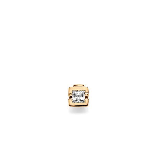 Anhänger in Roségold 585 mit 0,4 ct. Prinzess-Diamant tw, vs von acredo - A-X6KA1-E5-1KJQ06Z