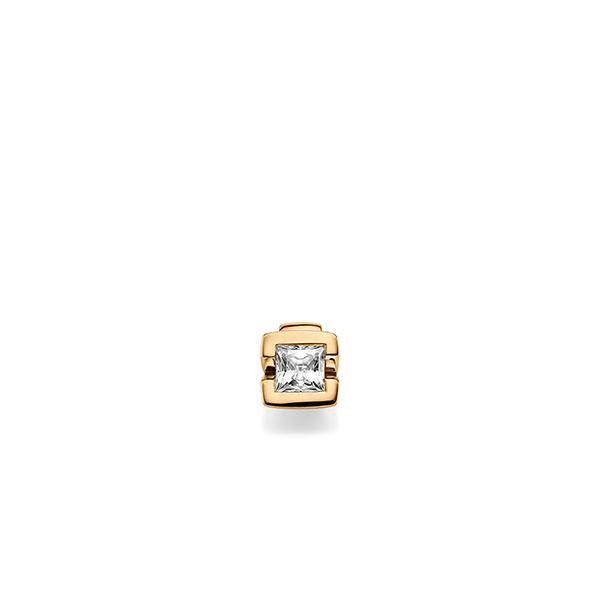Anhänger in Roségold 585 mit 0,5 ct. Prinzess-Diamant tw, vs von acredo - A-X5BR1-E5-1JUJ96Z