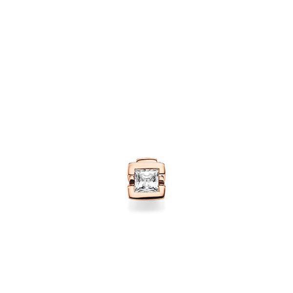 Anhänger in Rotgold 585 mit 0,5 ct. Prinzess-Diamant tw, vs von acredo - A-X5BQR-R5-1JUJ96Z