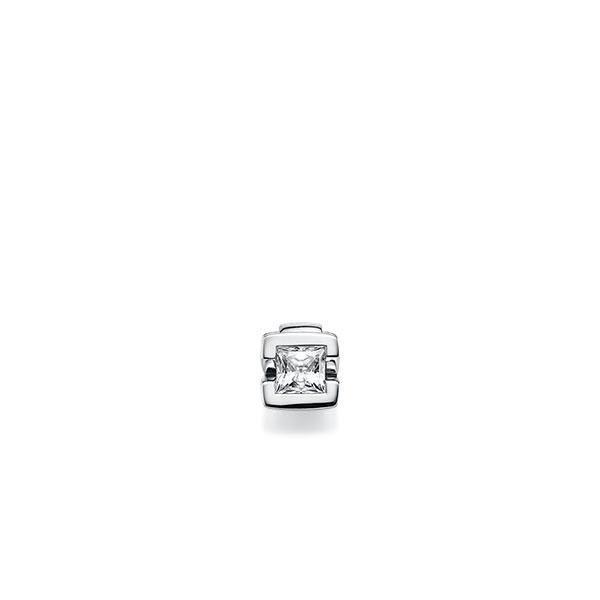 Anhänger in Weissgold 585 mit 0,4 ct. Prinzess-Diamant tw, vs von acredo - A-X6K3G-W5-1KJQ06Z