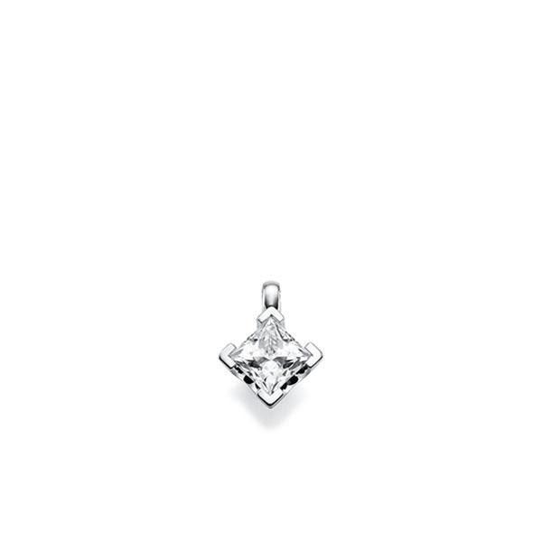 Anhänger in Weißgold 585 mit 1 ct. Prinzess-Diamant tw, vs von acredo - A-UFZEW-W5-1JGHL1Z