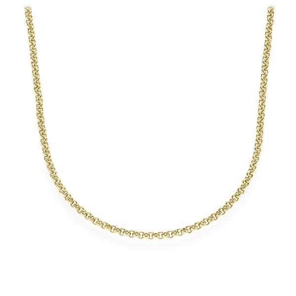 collier in geelgoud 14 kt. van acredo - A-UWTPW-G5