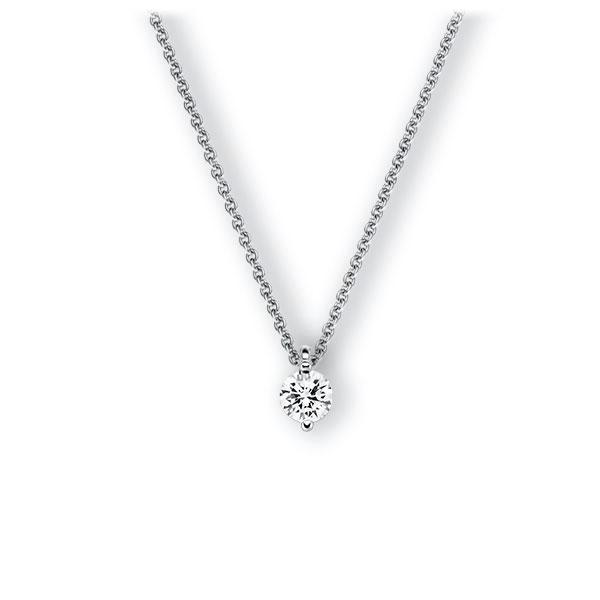 Collier in witgoud 14 kt. met 0,5 ct. Briljant tw,vs van Eternal Touch - E-3VBLR-WW5-1IV5GLZ