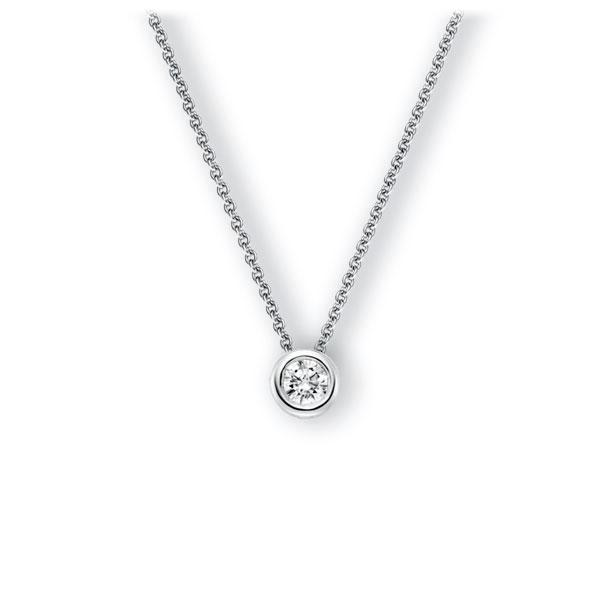 Collier in witgoud 14 kt. met 0,5 ct. Briljant tw,vs van Eternal Touch - E-3WJ27-WW5-1IV4L1Z