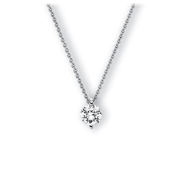 Collier in witgoud 14 kt. met 0,7 ct. Briljant tw,vs van Eternal Touch - E-3VBLS-WW5-1IV4Y1Z