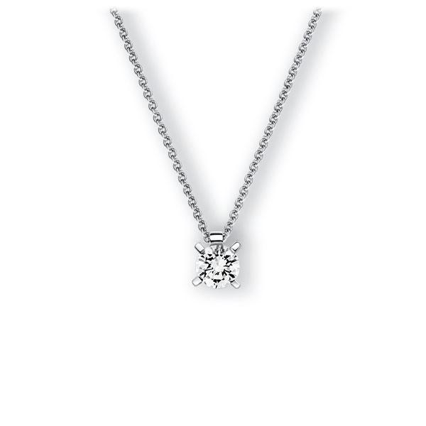 Collier in witgoud 14 kt. met 0,7 ct. Briljant tw,vs van Eternal Touch - E-3WI5L-WW5-1IV4J1Z