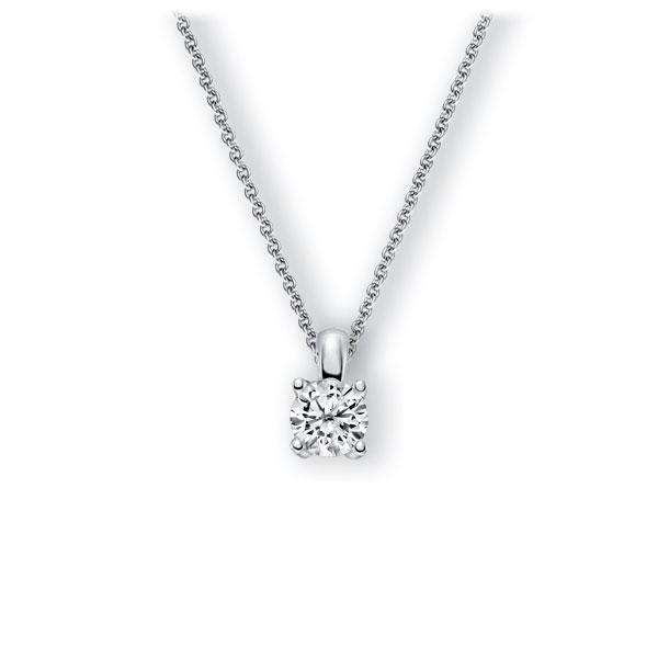 Collier in witgoud 14 kt. met 0,7 ct. Briljant tw,vs van Eternal Touch - E-3WICR-WW5-1IV4J1Z
