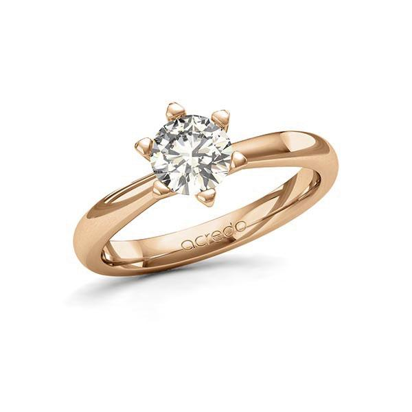 Verlobungsring in Roségold 585 mit 1 ct. Brillant tw, si von acredo - A-11JR3B-E5-1R7K5IZ